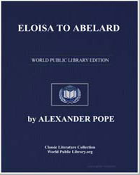 Eloisa to Abelard by Pope, Alexander