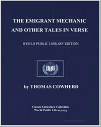 The Emigrant Mechanic : And Other Tales ... by Cowherd, Thomas