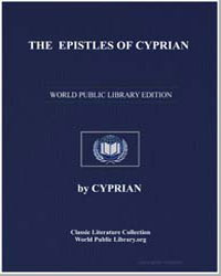 The Epistles of Cyprian by
