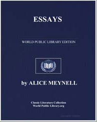 Essays by Meynell, Alice