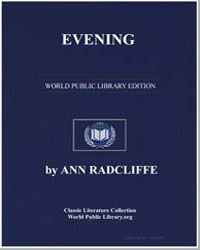 Evening by Radcliffe, Ann