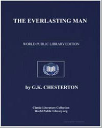 The Everlasting Man by Chesterton, Gilbert Keith
