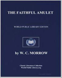 The Faithful Amulet by Morrow, W. C.