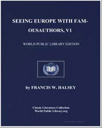 Seeing Europe with Famous Authors, V1 by Hutchinson, Joshua