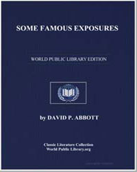Some Famous Exposures by Abbott, David P.