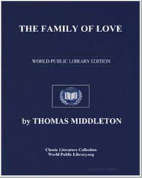 The Family of Love by Middleton, Thomas