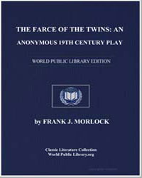 An Anonymous 19Th Century Play : The Far... by