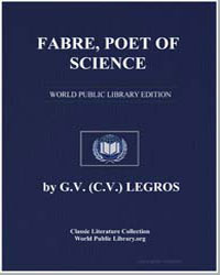 Fabre, Poet of Science by Legros, G. V., Dr.