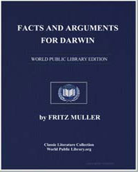 Facts and Arguments for Darwin by Muller, Fritz
