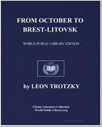 From October to Brestlitovsk by Trotzky, Leon