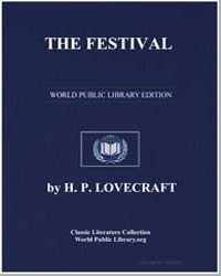 The Festival by Lovecraft, H. P.