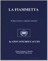 La Fiammetta by Boccaccio, Giovanni