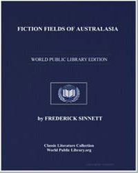 Fiction Fields of Australasia by Sinnett, Frederick
