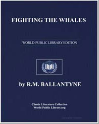 Fighting the Whales by Ballantyne, Robert Michael