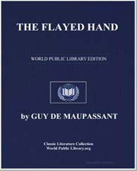 The Flayed Hand by De Maupassant, Guy