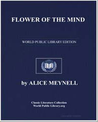 Flower of the Mind by Meynell, Alice