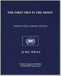 The First Men in the Moon by Wells, Herbert George