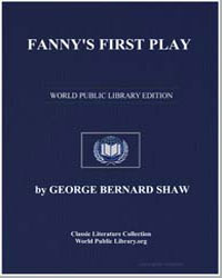 Fanny's First Play by Shaw, George Bernard