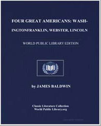 Four Great Americans : Washington, Frank... by Baldwin, James