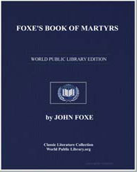 Foxe's Book of Martyrs by Foxe, John
