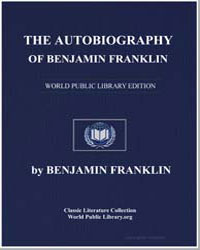 The Autobiography of Benjamin Franklin by Franklin, Benjamin