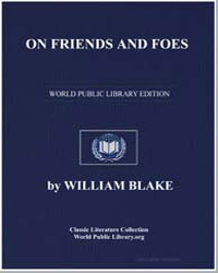 On Friends and Foes by Blake, William