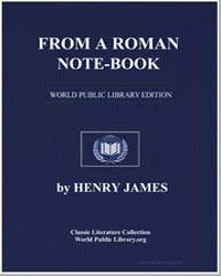 From a Roman Notebook by James, Henry