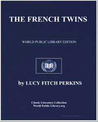 The French Twins by Perkins, Lucy Fitch