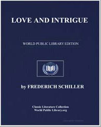Love and Intrigue by Von Schiller, Johann Christoph Friedrich (Friedric...