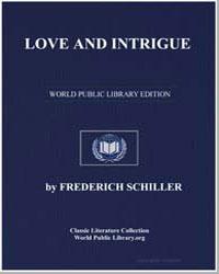 Love and Intrigue by Von Schiller, Johann Christoph Friedrich (Friedric...