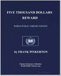 Five Thousand Dollars Reward by Pinkerton, Frank