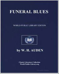 Funeral Blues by Auden, W. H.