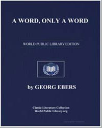 A Word, Only a Word by Ebers, Georg