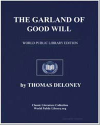 The Garland of Good Will by Deloney, Thomas