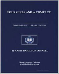Four Girls and a Compact by Donnell, Annie Hamilton