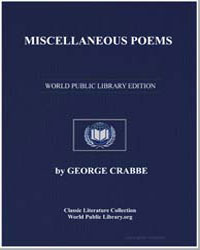 Miscellaneous Poems by Crabbe, George