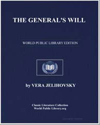 The General's Will by Jelihovsky, Vera
