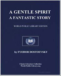 A Gentle Spirit : A Fantastic Story by Dostoevsky, Fyodor