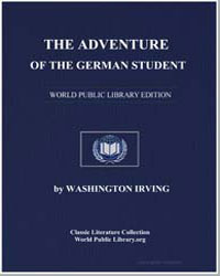 The Adventure of the German Student by Irving, Washington