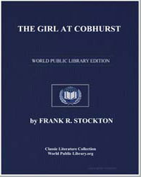 The Girl at Cobhurst by Stockton, Frank Richard