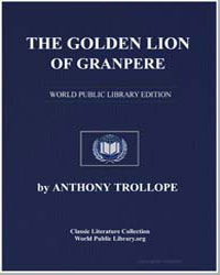 The Golden Lion of Granpere by Trollope, Anthony