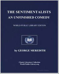 The Sentimentalists : An Unfinished Come... by Meredith, George