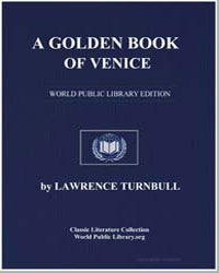 A Golden Book of Venice by Turnbull, Lawrence, Mrs.
