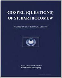 Gospel (Questions) of St. Bartholomew by