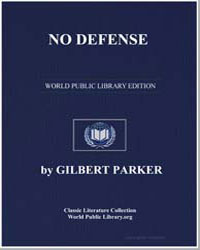 No Defense by Parker, Gilbert, Sir