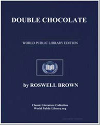 Double Chocolate by Brown, Roswell