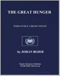 The Great Hunger by Bojer, Johan