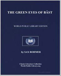 The Green Eyes of Bast by Rohmer, Sax