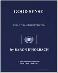Good Sense by Dholbach, Baron