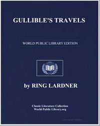 Gullible's Travels by Lardner, Ring W.